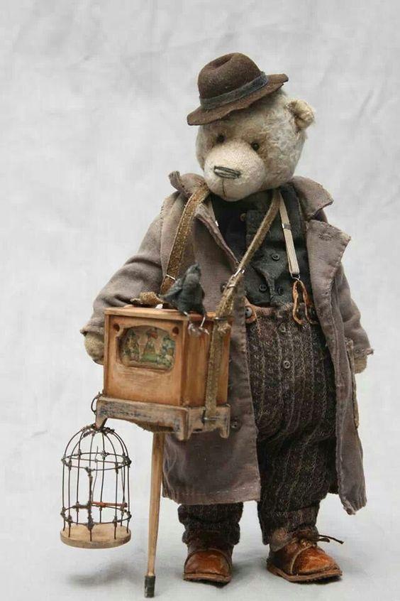 .great old teddy bear: