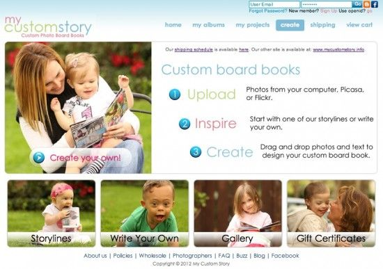 How to make a custom board book for babies - great 1st birthday gift!