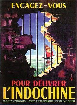 Affiche coloniale - Recrutement
