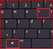 phím window + r trên bàn phím - phim window + R trên bàn phím