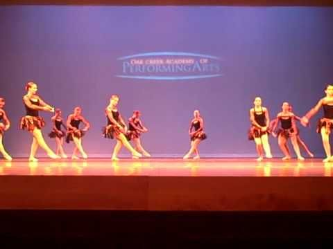 Gr. 9-12 Advanced Ballet, Spring 2012