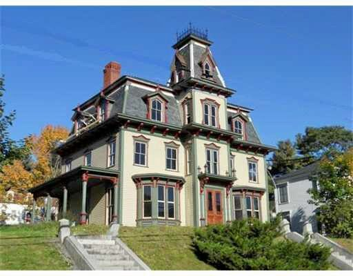 bodwell house 15 middle street hallowell maine built in 1875 high style second empire style. Black Bedroom Furniture Sets. Home Design Ideas