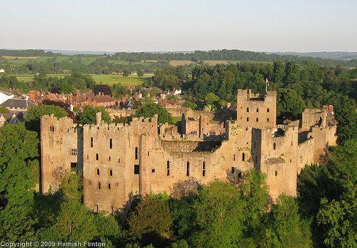 Ludlow Castle, Shropshire, England