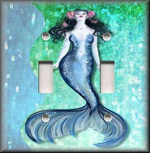 mermaid bathrooms | Mermaid Bathroom Decor