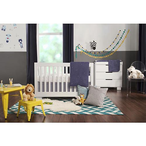 "Babyletto Modo 3-in-1 Convertible Crib - White - Babyletto  - Babies""R""Us"