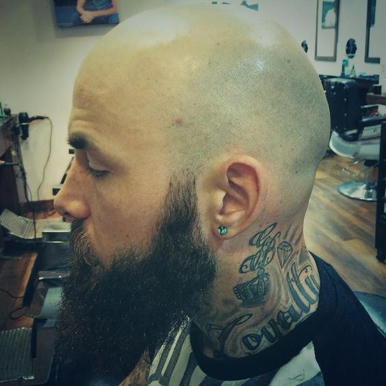 Permanent shaved head