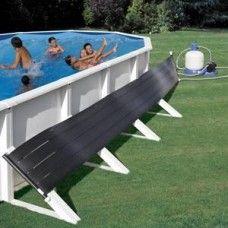 #Riscaldatore a #pannelli #solari per #piscina fuori terra