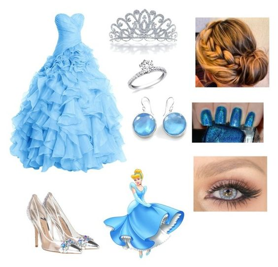 Cinderella / Disney princess By: Kelsey C. by kelseyclark70 on Polyvore featuring polyvore, fashion, style, Ippolita, Bling Jewelry and clothing
