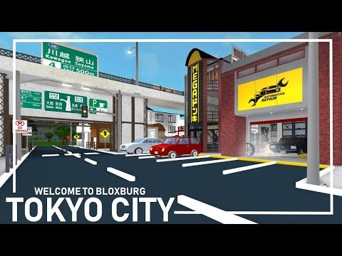 Bloxburg Tokyo City Full Tour Youtube Tokyo City Tokyo City