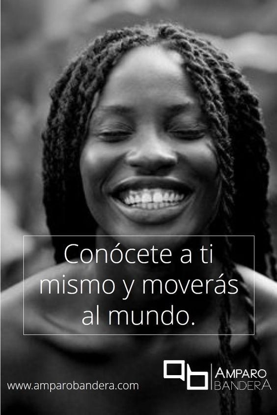 El autoconocimiento es la clave de todo ;) Amparo Bandera #Terapia #Bienestar #DecidoSerFeliz #SaludEmocional: