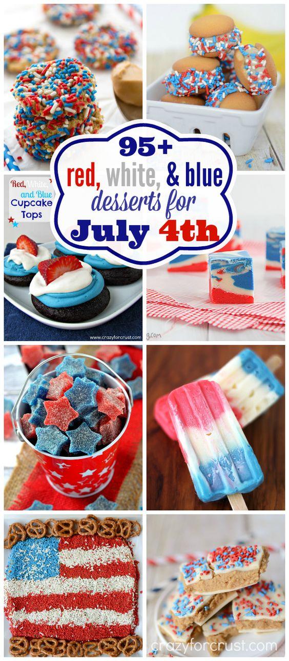4th july treats desserts