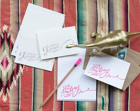Custom Note Stationery