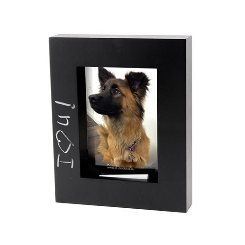 Black Chalkboard Picture Frame by Present Time