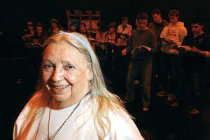 Jo Brodzinski is a tireless volunteer in the Tri-City arts community.