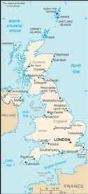 World Factbook's UK