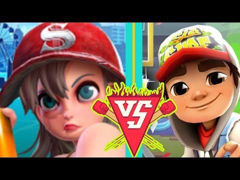 تحدي خطير صب واي مترو الأنفاق Snow Subway Rush Runner Vs Youtube Mario Characters Character Fictional Characters