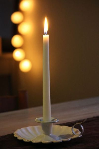 """All the darkness in the world cannot extinguish the light of a single candle."" 
