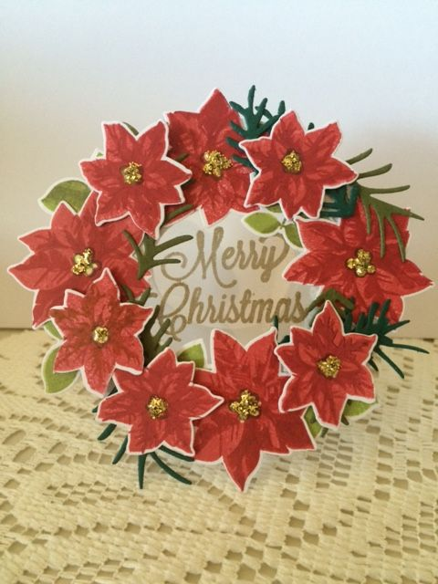 Entering this in the HLS March Christmas Challenge http://www.happylittlestampers.com/search/label/Christmas%20Challenge