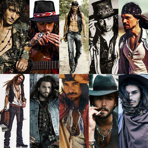 modern gypsy men