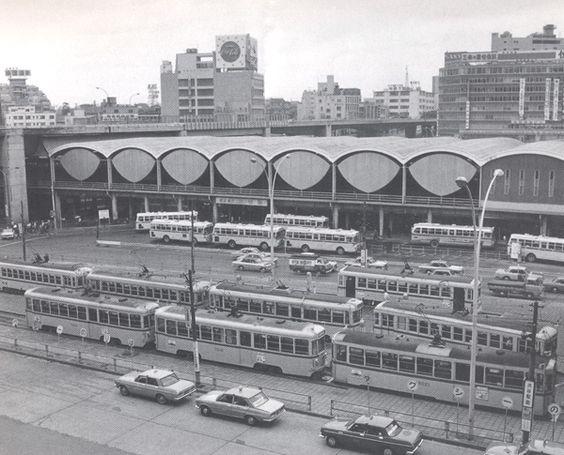 渋谷駅前(昭和42年頃)