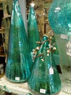 Vintage Style Mercury Glass in almost every color at Gold'n Country Gifts llc, Facebook, WI