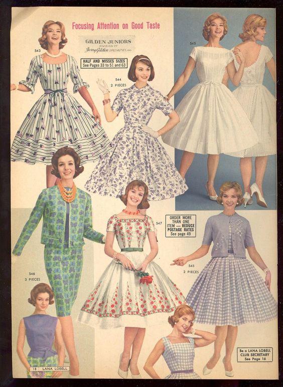 Лана Lobell Пролет 1961 Каталог фокусиране на вниманието върху добър вкус: