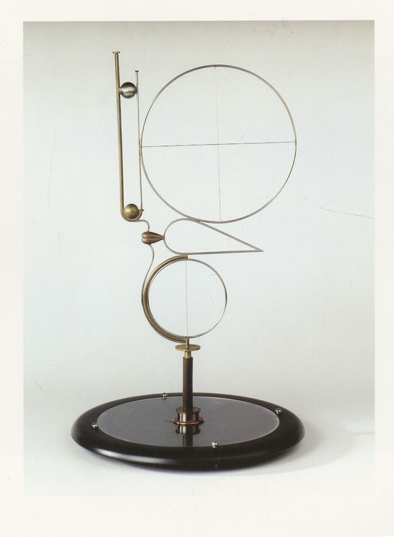 oskar schlemmer abstract head 1923 copper wire and chrome. Black Bedroom Furniture Sets. Home Design Ideas