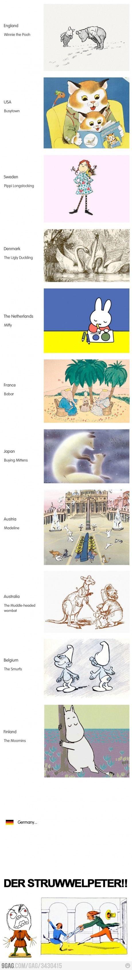 Classic Children's Books//  alemanes y sus caricaturas :B