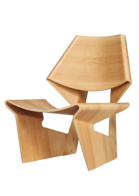 Grete Jalk Chair Mid Century Modern Pinterest Chairs