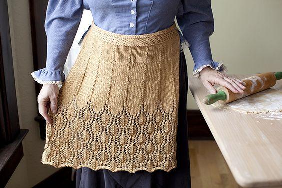 Ravelry: Marilla's Apron pattern by Joanna Johnson