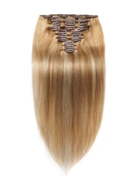 120g 200g10pcs Straight Clip In Remy Hair Extensions Wigs