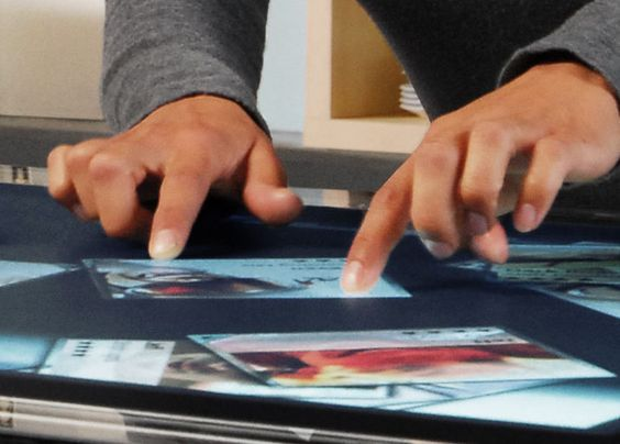 Multi-Touch surface