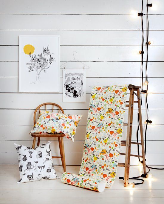 mini empire  wallpaper + cushions