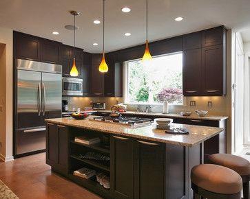 Dark & Charming Kitchen - transitional - Kitchen - Dc Metro - JACK ROSEN CUSTOM KITCHENS