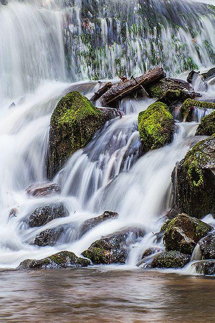 Indian Creek Falls, Great Smoky Mountains National Park, USA  por Leman's Studios en Flickr