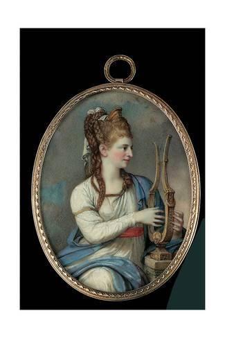 Giclee Print: Sara Gustava Adelaide Schwan, 1797 by Giovanni Domenico Bossi : 24x16in