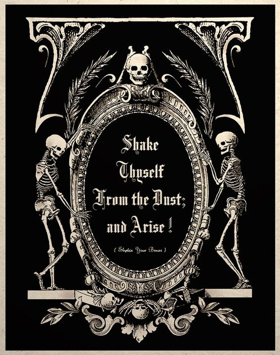 The Undead Arise Gothic Macabre Art Print $14.00  hey  rick, thanks for the great chance to repin!