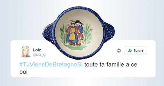 Top tweets pour reconnaître les vrais Bretons TuViensDeBretagneSi