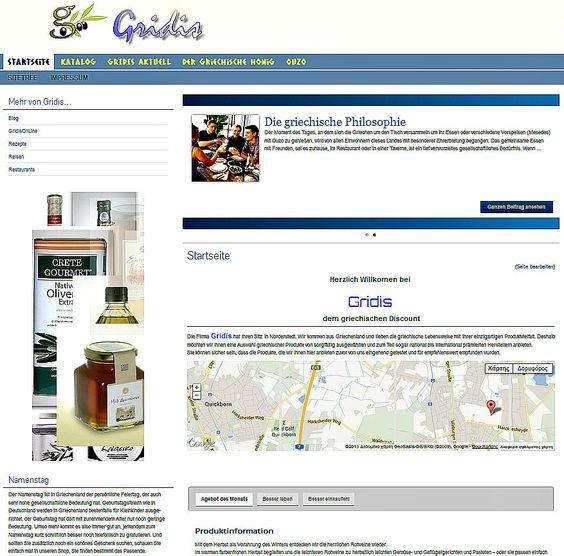 Kompetenz für jeden griechischen Geschmack: herrliches griechisches Olivenöl, griechische Weine, Ouzo, Honig, Kaffee, Geschenkideen und viele andere Produkte werden Sie bei uns finden
