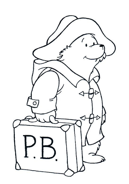 Image Result For Coloring Sheets For Paddington Bear Coloring Pages Paddington Bear Bear Pictures