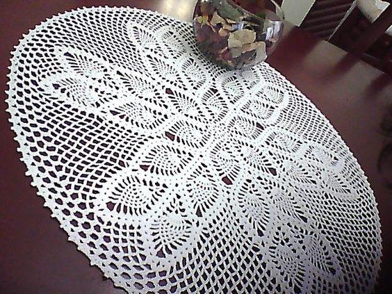 tapetes crochet -