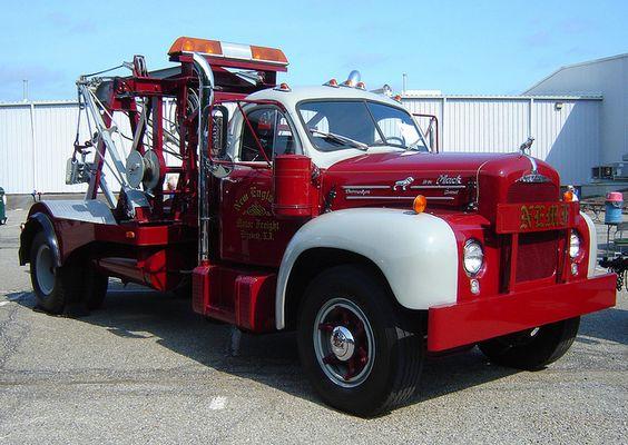 vintage kenworth tow truck | Flickr: The Vintage Old ...