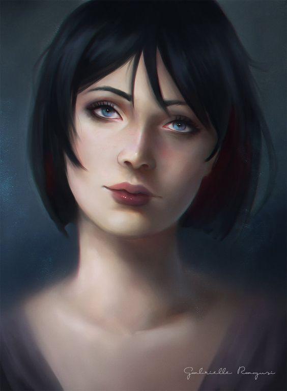 Amren [art by gabrielle ragusi]