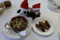 Champignons und Chorizo, Weißweinsauce, Paprikawurst, Restaurant, spanisch, Picasso, Hamburg, essen&trinken, Rezension