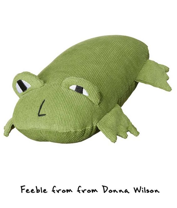 Donna Wilson Wild Thing frog