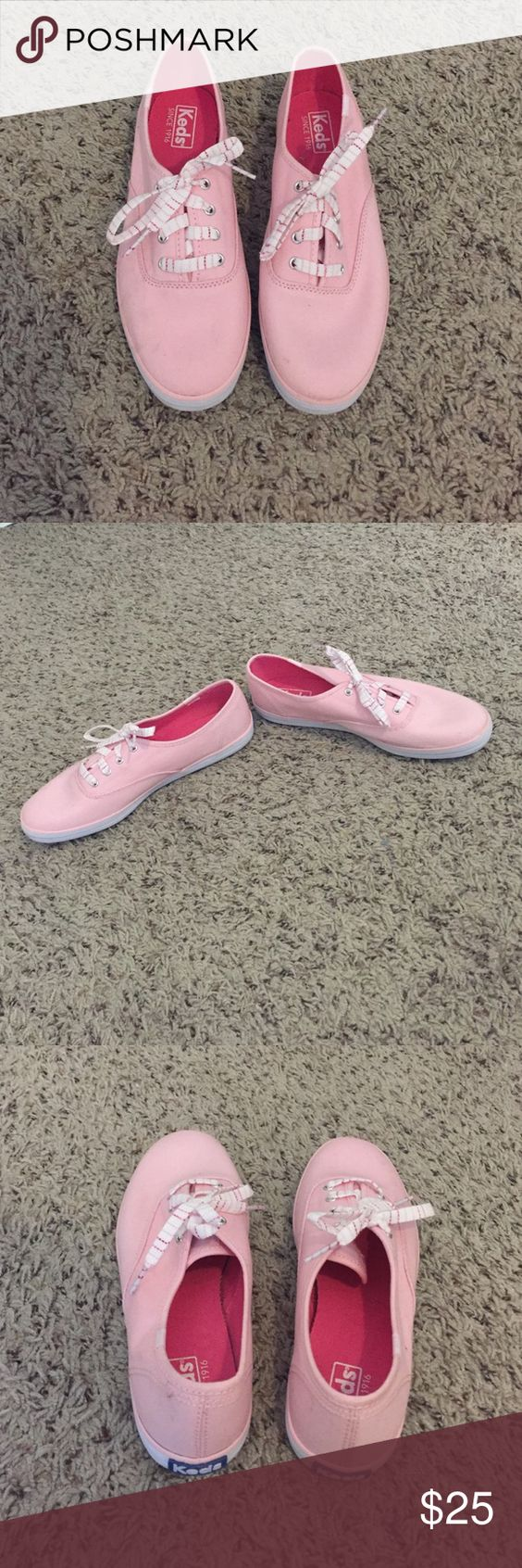 NEW light pink Keds sneakers NEW light pink Keds sneakers size 8, never worn keds Shoes Sneakers