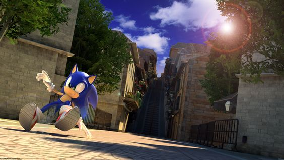 Sonic the Hedgehog - in Spagonia (Sonic Unleashed)