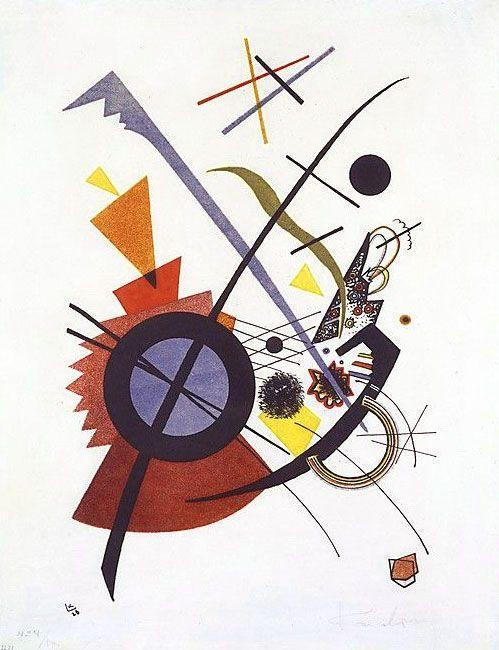 wassily kandinsky abstrakt abstrakte malerei gemälde vögel bilder schwarz weiß