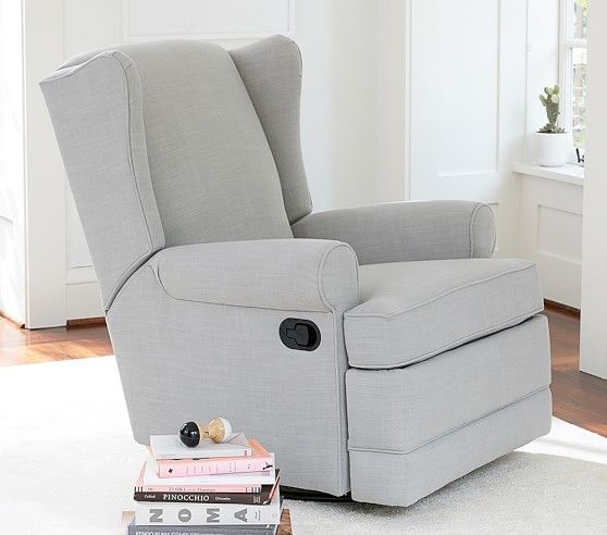 Wingback Swivel Glider Amp Recliner