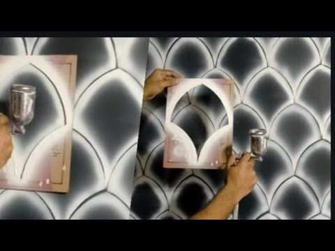 Wall Painting Designs Ideas L Wall Painting Ideas L Wall Painting Hacks In 2020 Wall Paint Designs Wall Painting Paint Designs